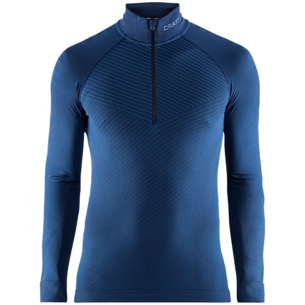 Camiseta interior mangas largas CRAFT Active Intensity Zip azul oscuro H4406K3477