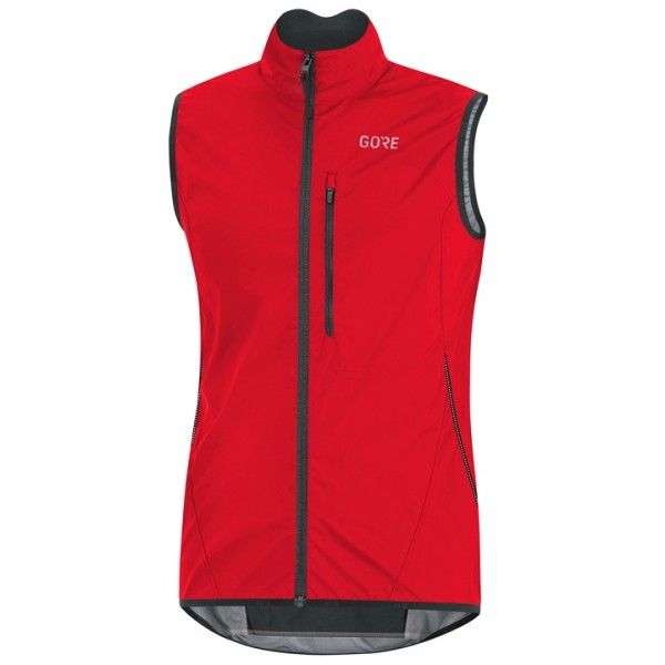 Chaleco cortavientos GORE Windstopper Light rojo R3423G8905