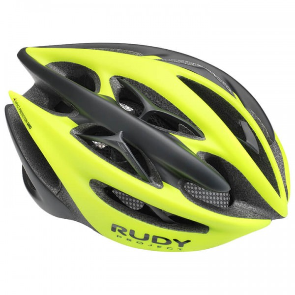 2019 Casco RUDY PROJECT Sterling + amarillo neón - negro Z1664O5088