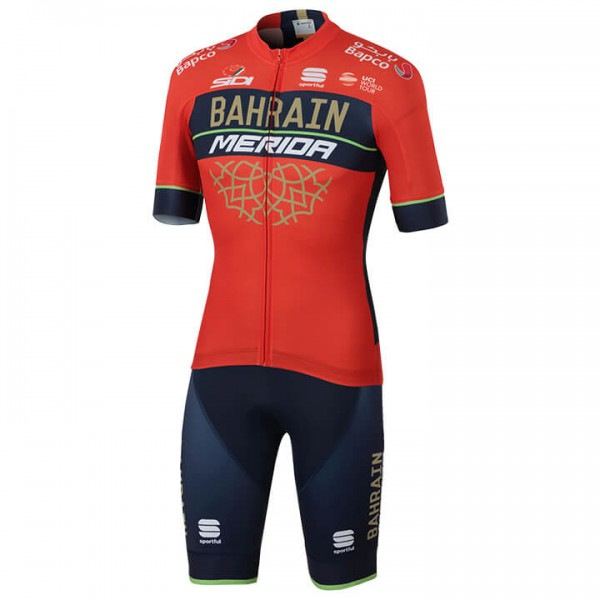 2018 Set (2 piezas) BAHRAIN - MERIDA Pro Team X7674I2493