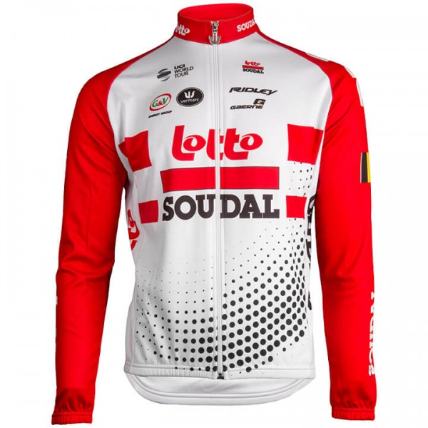 2019 Maillot mangas largas Lotto Soudal A3928D4816
